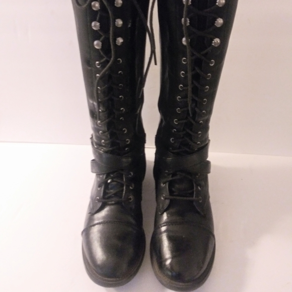 Shoes | Womens Lace Up Boots | Poshmark